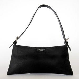 Kate Spade Small Black Nylon Shoulder Bag